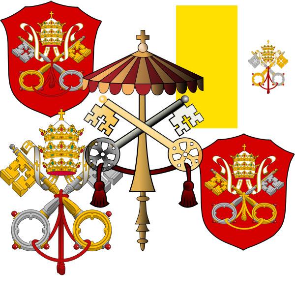 Официальные символы государства Ватикан
